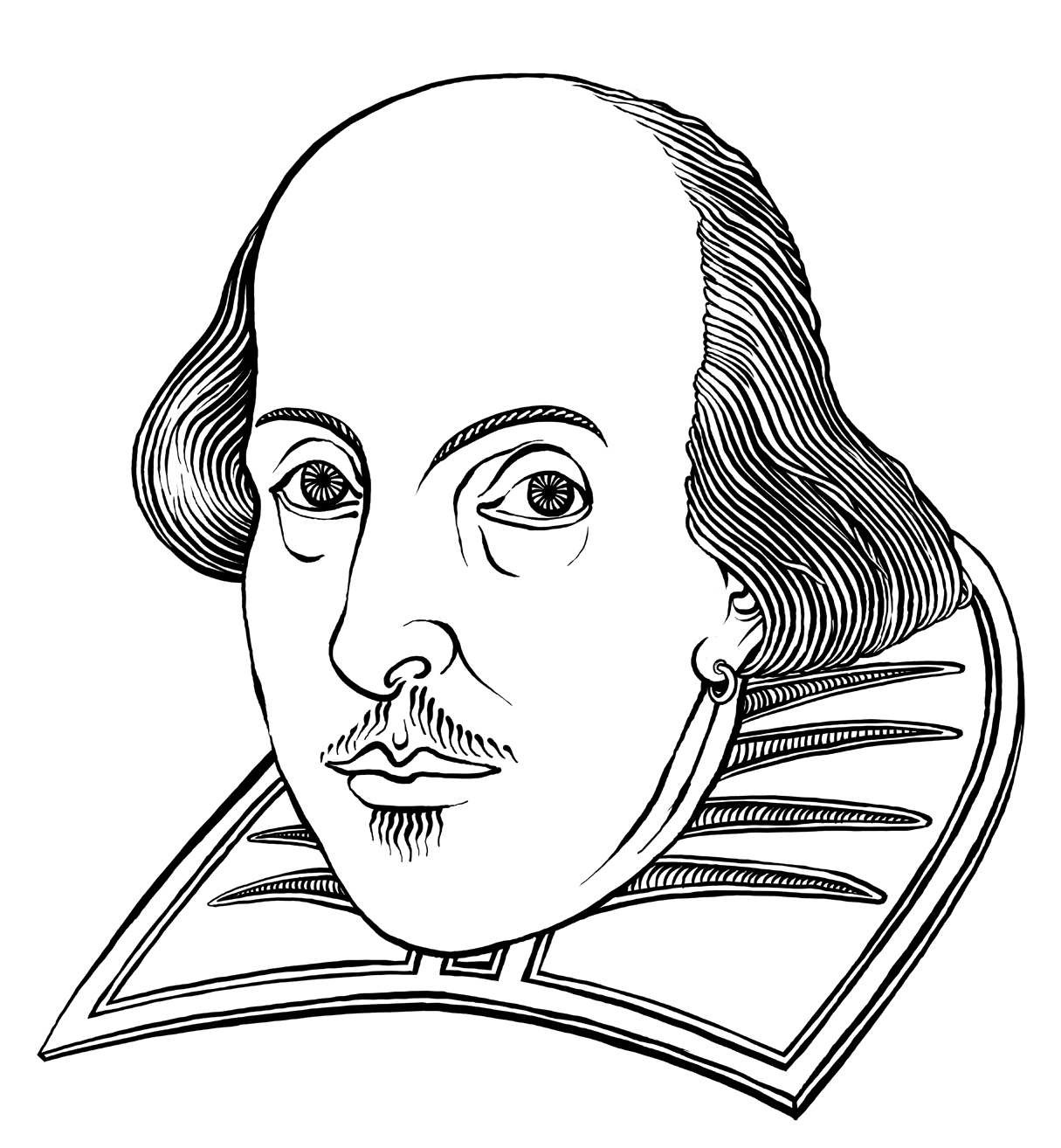 coloring pages shakespeare - photo#10